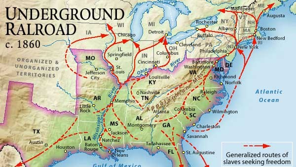Exploring the Underground Railroad – Underground Railroad Worksheet